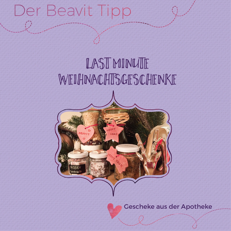 Last Minute Geschenke für Eilige   Der Beavit Blog - Informationen ...