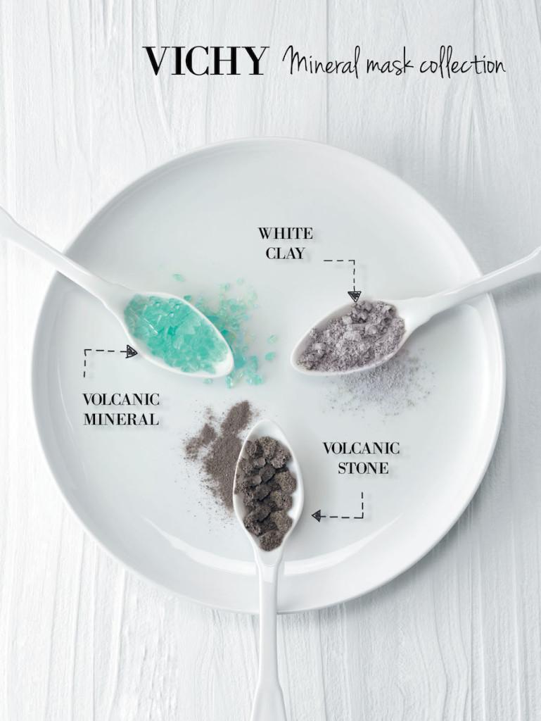 Mineral-Masken von VICHY - Visuell