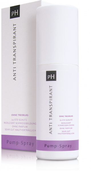 pH Anti Transpirant Pumpspray