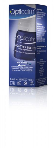 Opticalmax Gouttes Bleues