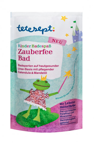 tetesept Kinderbadespass Zauberfee Badeperlen 80g