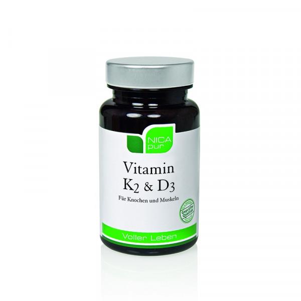 NICApur® Vitamin K2 & D3