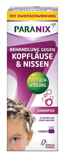 Paranix Shampoo mit Kamm 200 ml