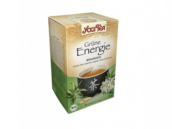 YOGI TEA® Grüne Energie