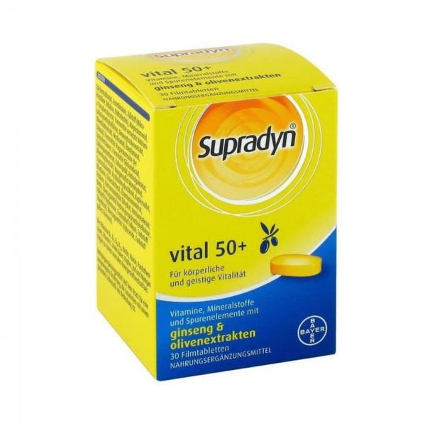 Supradyn Vital 50+ Filmtabletten