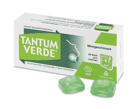 Tantum Verde 3 mg - Pastillen mit Minzgeschmack