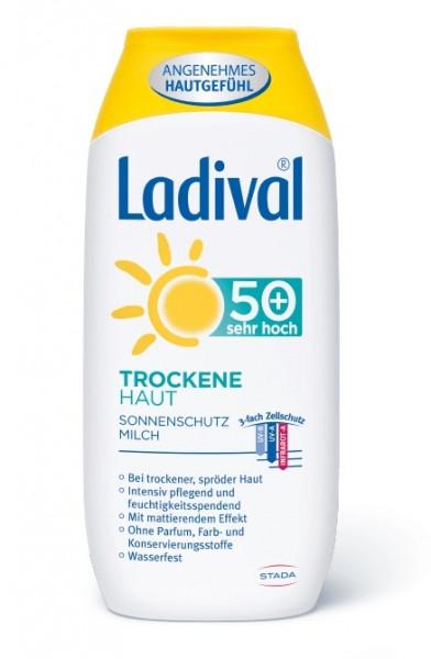 LADIVAL Trockene Haut Sonnenschutz Milch LSF 50+