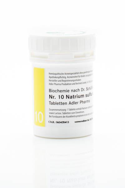Schüssler Salz Nr. 10 Natrium sulfuricum