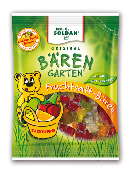 Dr. C. Soldan Bärengarten Zuckerfrei 150g