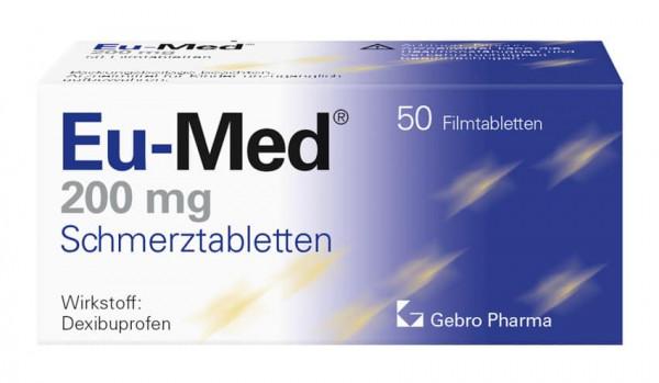 Eu-Med 200 mg Schmerztabletten