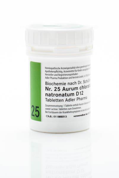 Schüssler Salz Nr. 25 D12 Aurum chloratum natronatum