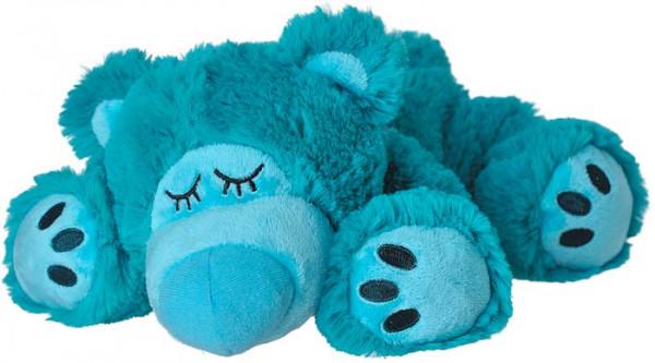 Wärmestofftier Sleepy Bär türkis