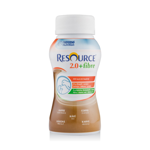 Resource® 2.0+fibre Kaffee 24x200ml