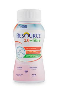 Resource® 2.0+fibre Erdbeer 1x200ml