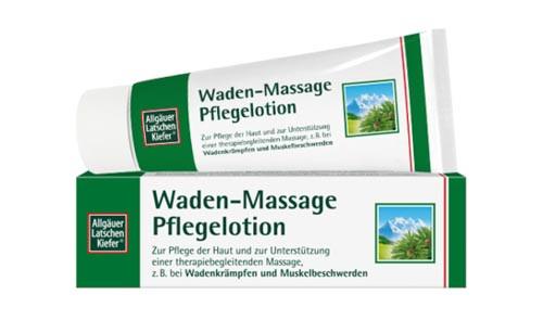 Allgäuer Wadenkrampf Massage Lotion