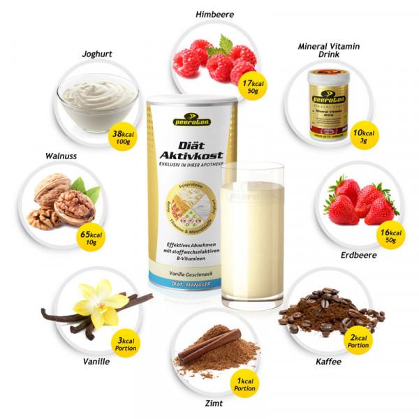 PEEROTON Diät-Aktivkost Vanille