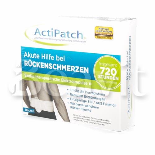 Actipatch Rückenschmerzen