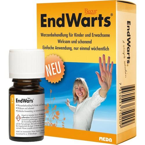 Endwarts Endwarts Lösung gegen Warzen
