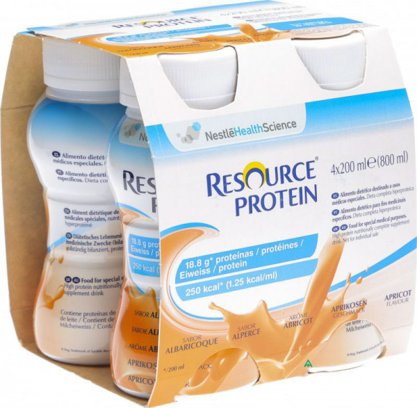 Resource® protein Aprikose 4x200ml