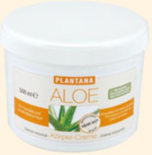 Plantana Aloe Vera Körpercreme