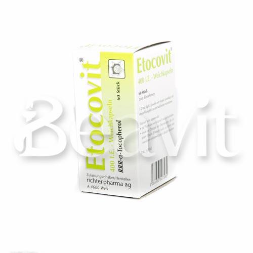 ERWO Pharma Etocovit 400 I.E. - Weichkapseln