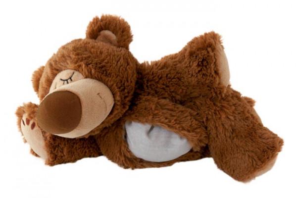 Wärmestofftier Sleepy Bär braun JOe