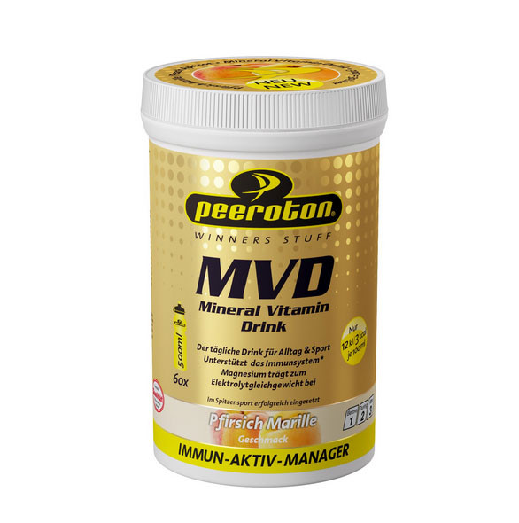 PEEROTON Mineral Vitamin Drink Pfirisch-Marille