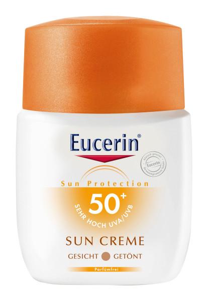 Eucerin Sun CC Creme Gesicht Getönt LSF 50+