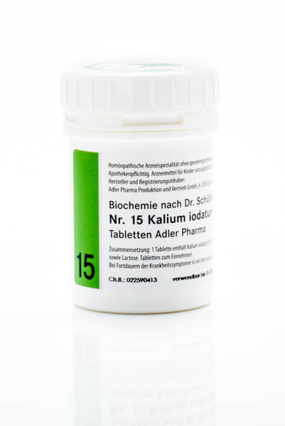 Schüssler Salz Nr. 15 D12 Kalium iodatum