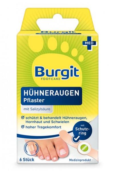 Burgit Hühneraugen Pflaster 6 Stk.