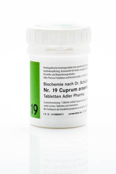 Schüssler Salz Nr. 19 D12 Cuprum arsenicosum