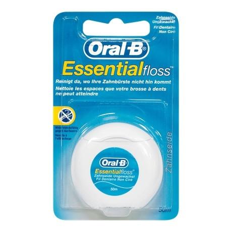 Oral-B Zahnseide Essential Floss gewachst 50m