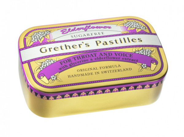 Grether's Pastilles Elderflower