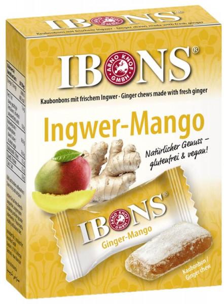 IBONS Ingwer-Mango Kaubonbon