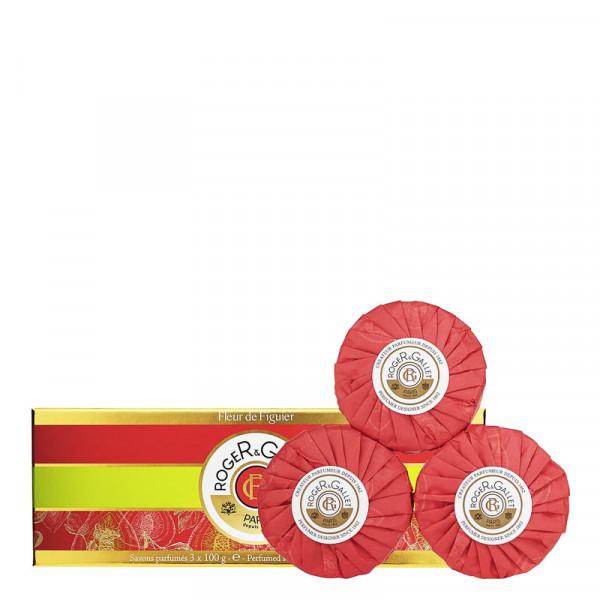 Roger & Gallet Fleur de Figuier - Seifencoffret 3*100g Set