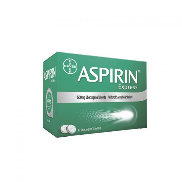 Aspirin Express 500 mg überzogene Tabletten