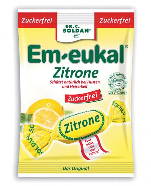 Em-eukal Zitrone zuckerfrei 75g