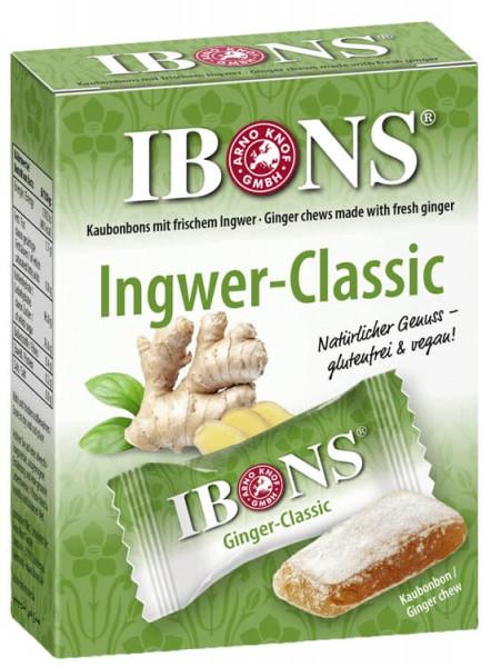 IBONS Ingwer-Classic Kaubonbon
