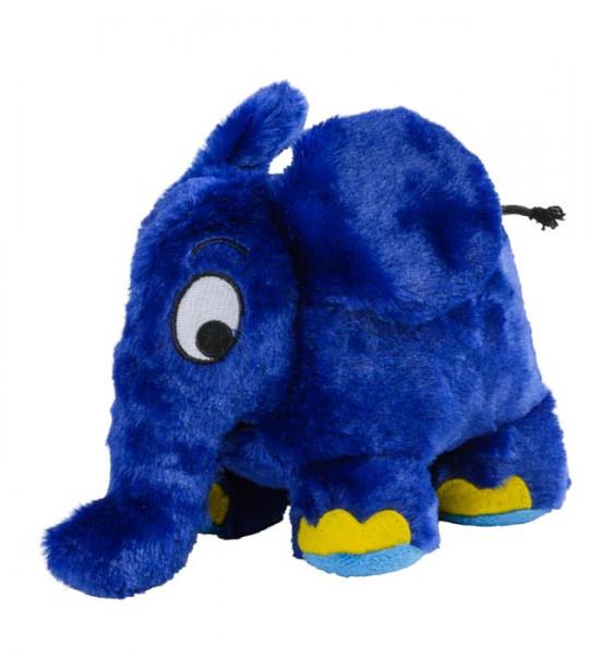 Wärmestofftier Elefant blau