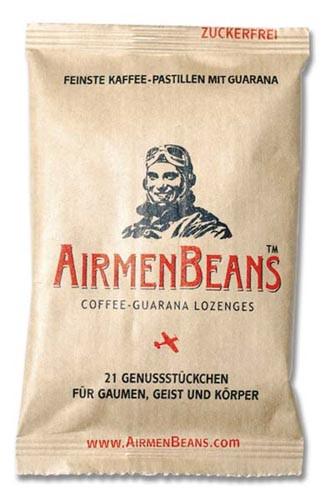 Airmen Beans feinste Kaffee Pastillen mit Guarana