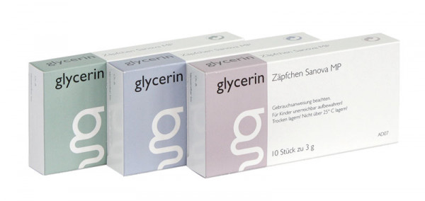 glycerin Zäpfchen Mp Sanova 3g