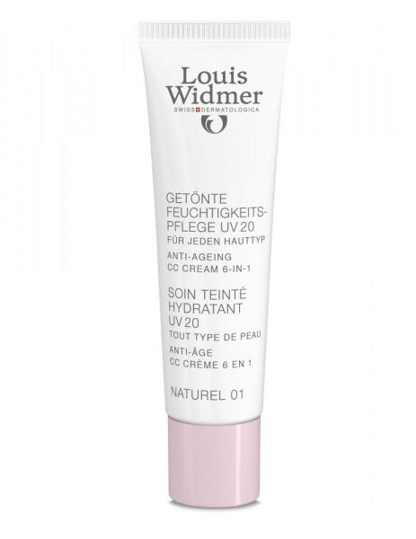 Louis Widmer parfümfrei Get. Feuchtigkeitspfl. UV 20 Naturel 01