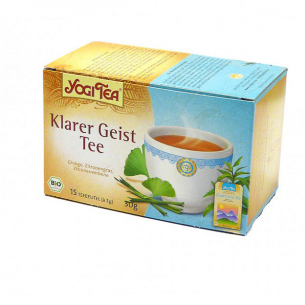 YOGI TEA® Klarer Geist Tee