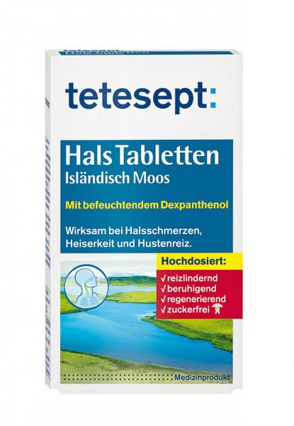 Hals Tabletten Isländisch Moos Zuckerfrei 20 Stk