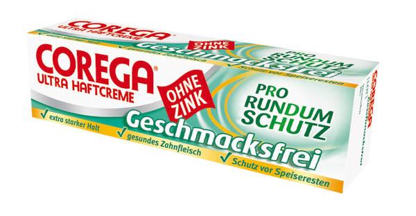 Corega Ultra Haftcreme geschmacksfrei 40g