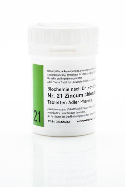Schüssler Salz Nr. 21 D12 Zincum chloratum