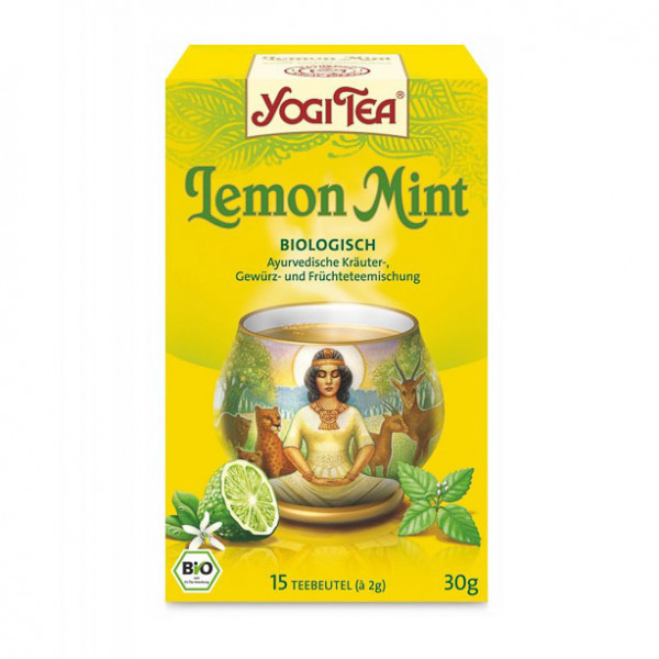 YOGI TEA® Lemon Mint