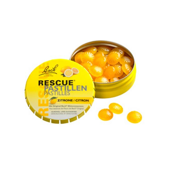 Bachblüten Rescue Pastillen Zitrone