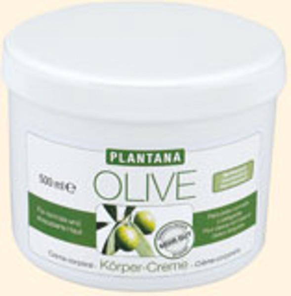 Plantana Olivenöl Butter Körpercreme