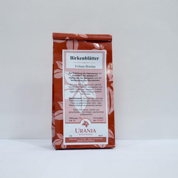 Urania Apotheke Birkenblätter 50g